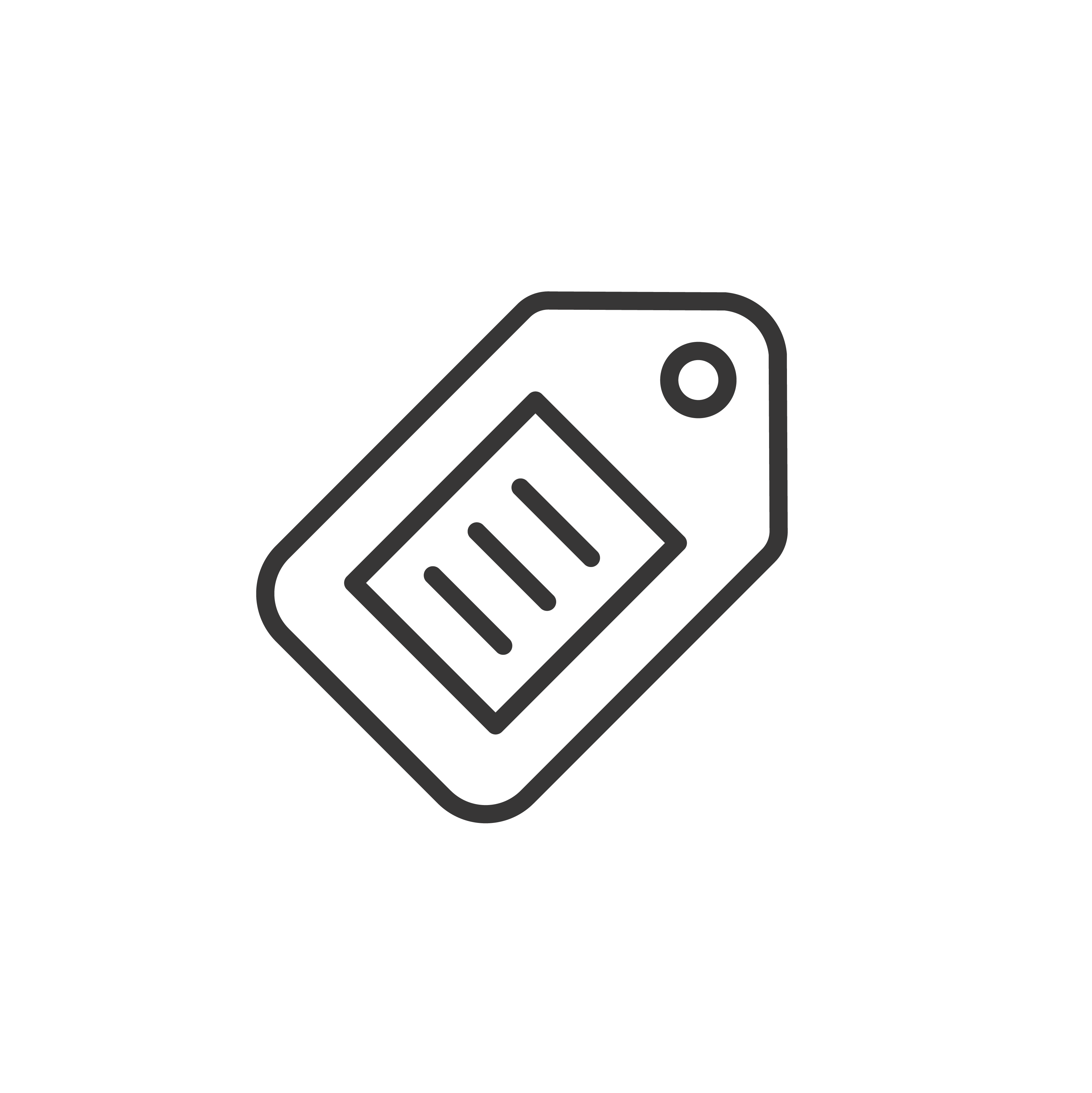 Asset Tagging Icon