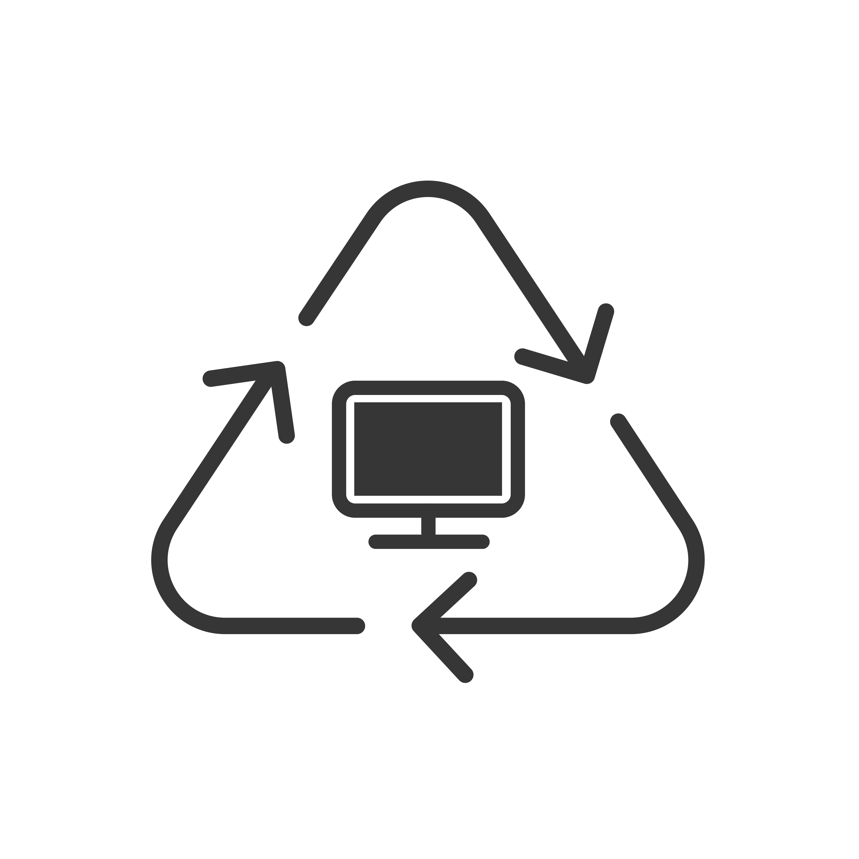 Recycling and Asset Disposal Icon
