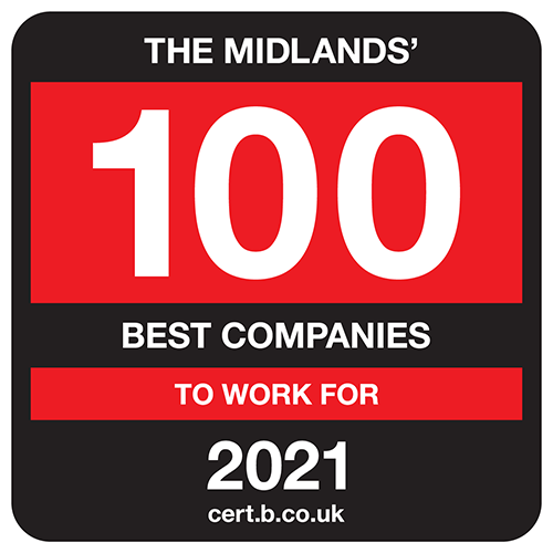 The Midlands' 100 Best Companies to Work For 2021