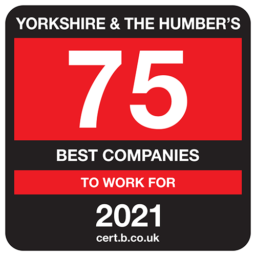 Yorkshire & The Humber's 75 Best Companies to Work For 2021